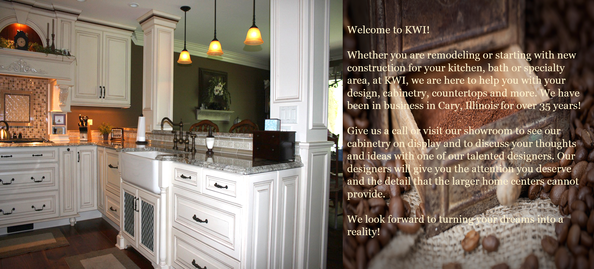 KWI – New Look Kitchen and Bath